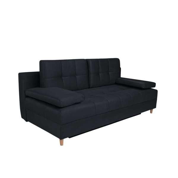 Sofa Montila LUX 3Dl Solar 99 Black