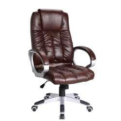 Biuro kėdė DD6 tamsiai ruda
